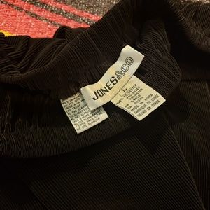 1980s vintage ribbed skirt